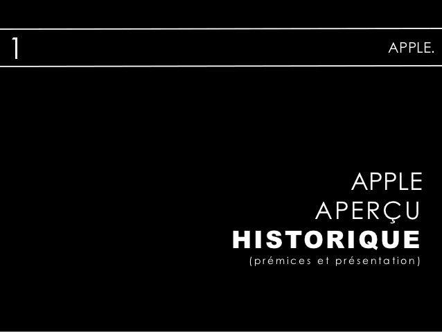 Apple : Son histoire et ses apports Slide 2