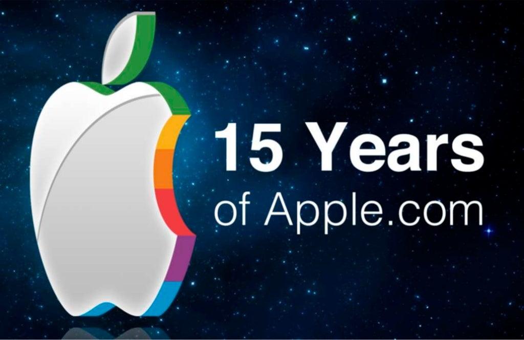 15 Years of Apple's Homepage