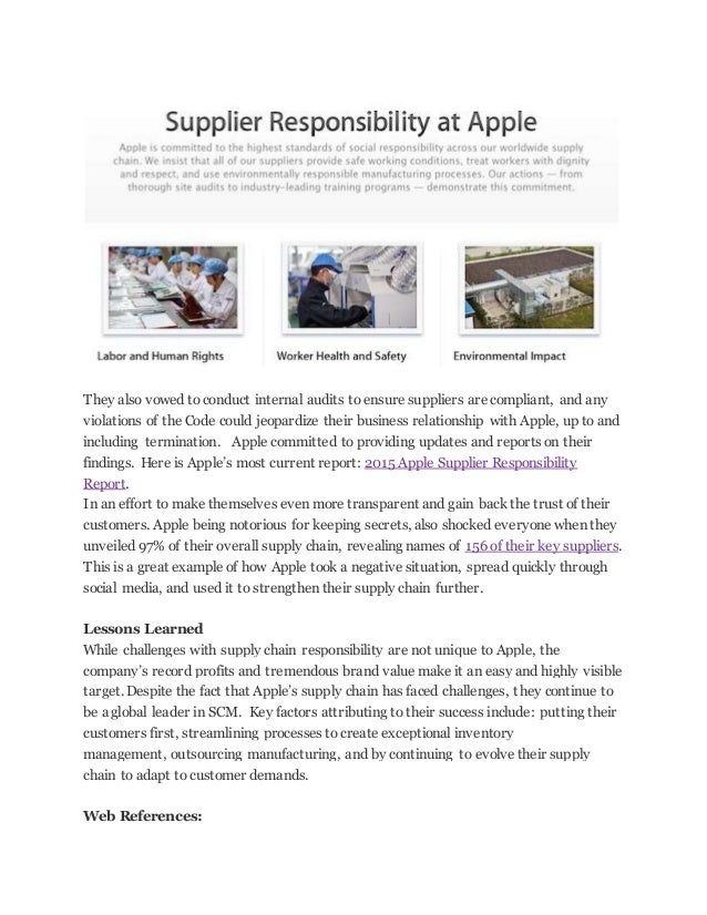 apple global supply chain He offered a perspective on what a full-blown us-china trade war would mean  for companies deeply integrated into global supply chains.