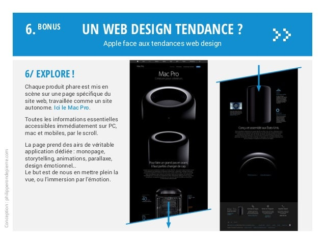 6/ EXPLORE! Chaque produit phare est mis en scène sur une page spécifique du site web, travaillée comme un site autonome....
