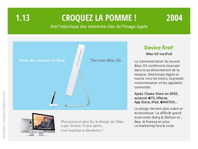 Device first! iMac G5 via iPod La communication du nouvel iMac G5 confirme le tournant dans le positionnement de la marque...