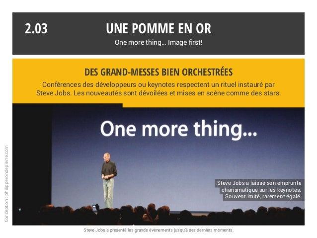 Des grand-messes bien orchestrées Conférences des développeurs ou keynotes respectent un rituel instauré par Steve Jobs. L...