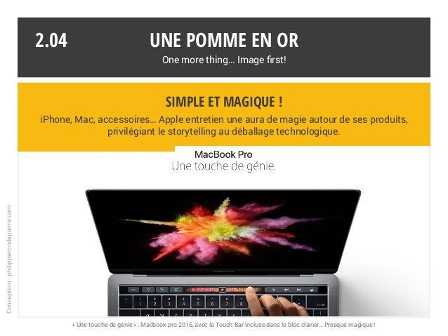 Simple et magique ! iPhone, Mac, accessoires… Apple entretien une aura de magie autour de ses produits, privilégiant le st...