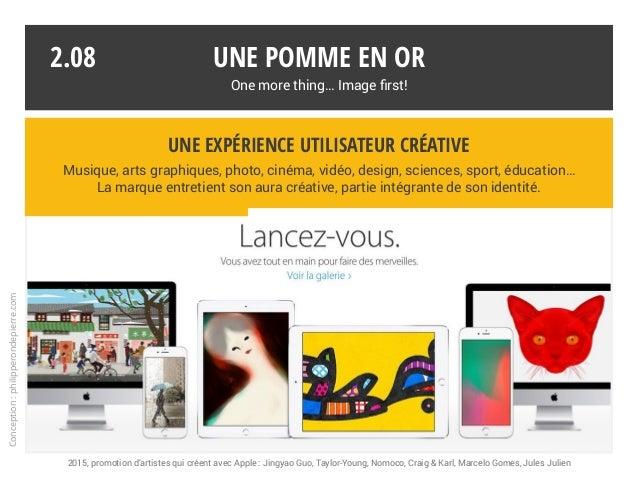 Une expérience utilisateur créative Musique, arts graphiques, photo, cinéma, vidéo, design, sciences, sport, éducation… La...