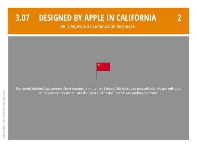 3.07 2 Conception:philipperondepierre.com Comment donner l'apparence d'une marque premium en faisant fabriquer des produit...