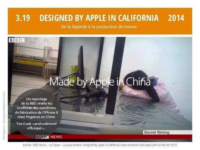 Conception:philipperondepierre.com 3.19 Un reportage de la BBC révèle les coulisses des conditions de fabrication de l'iPh...