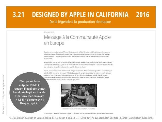 Conception:philipperondepierre.com 3.21 L'Europe réclame à Apple 13 Md €, jugeant illégal son statut fiscal privilégié en ...