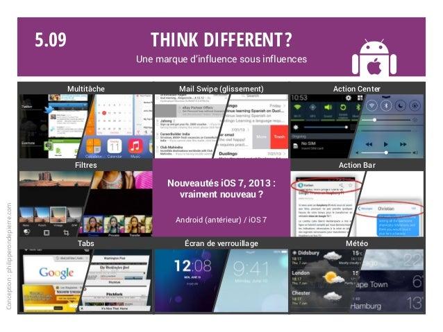 Think different? Une marque d'influence sous influences Conception:philipperondepierre.com 5.09 Multitâche Mail Swipe (gli...