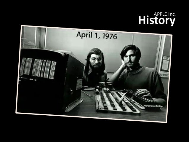 an analysis of the history of the apple computers inc Management's discussion and analysis of financial condition and results of   any statement that does not directly relate to any historical or current fact  the  ibooks store, available for ios devices and mac computers,.