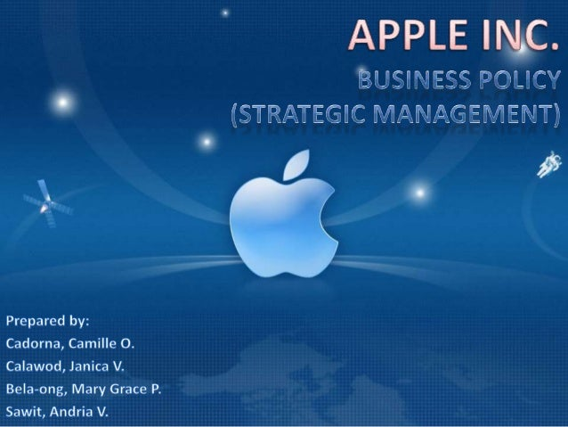 CONTENTS COMPANY HISTORY STEVE JOBS APPLE INC. AFTER STEVE JOBS'DEATH COMPANY VISION AND MISSION STATEMENTS, CORE COMPETEN...