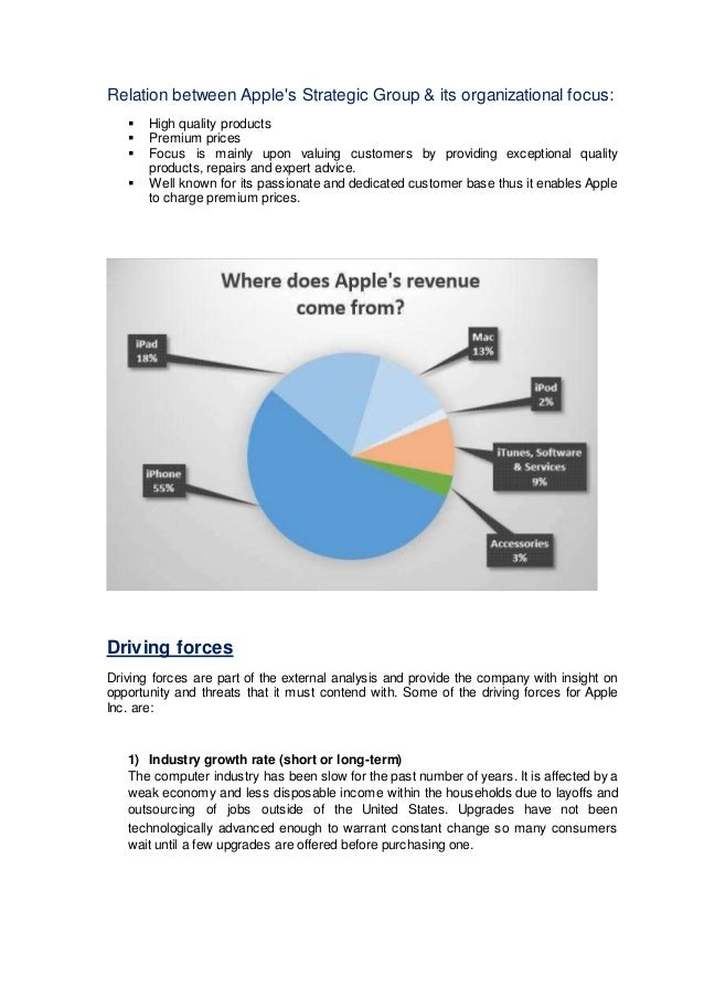 apple inc operation strategy Apple globalization & global strategic planning  differentiation strategy of apple inc  it is also evident that strategic options chose by firms operating at .