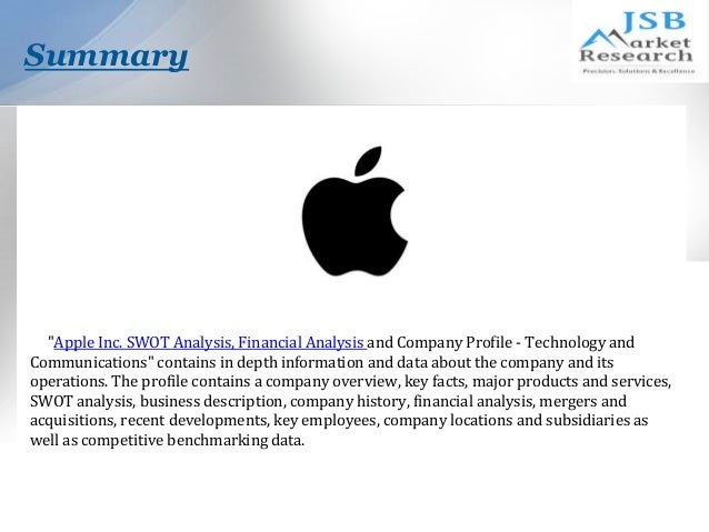 swot analysis apple inc