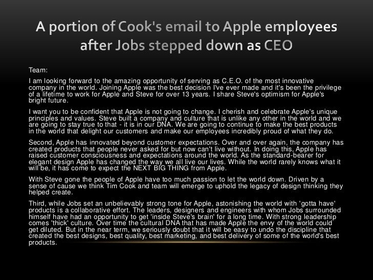 life after steve jobs will apple The history channel has a great series called life after people, which imagines the fate of the earth after an apocalyptic end to humansas a technology analyst, steve jobs' january 17th.