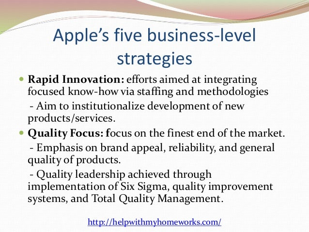 innovation strategy of apple inc Almost from the start of its journey steve jobs and the executive board shaped  apple into an innovative design company and this is an.
