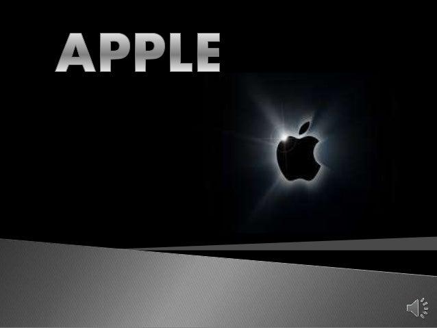  Apple Inc. ёshtё njё kompani informatike e themeluar nё 1 Prill 1976 nga Steve Jobs,qё krijon pajisje elektronike si PC ...