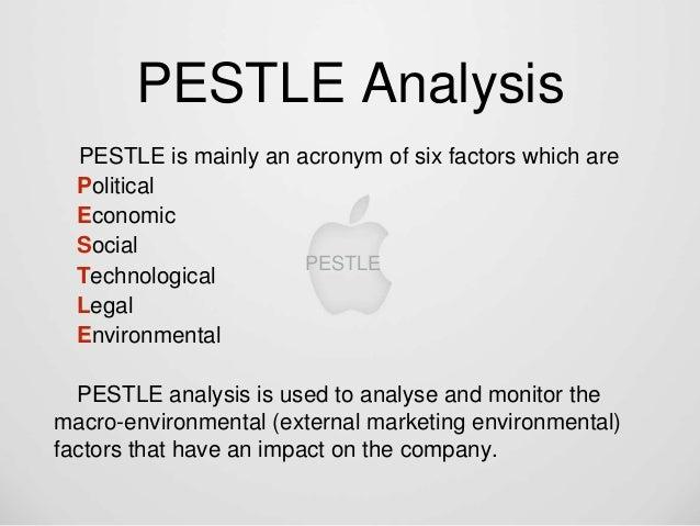 apple pestle analysis 2019