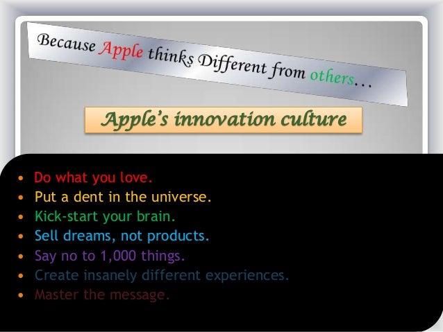 apples innovation strategy essay Strategic analysis of apple inc company essay, buy custom strategic analysis of   in technology market, creativity and innovation enable any company to.