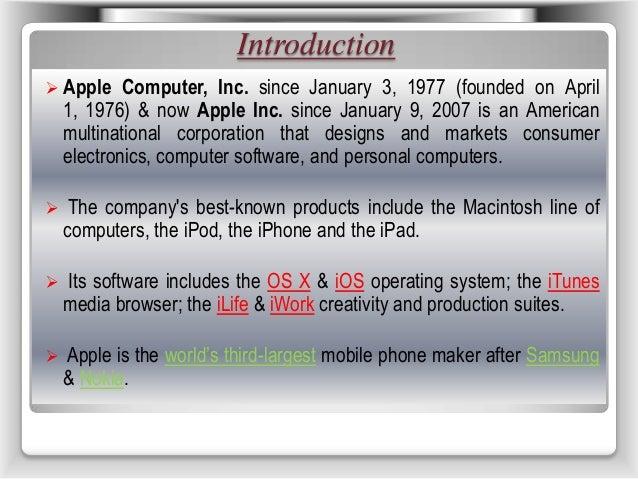Apple Innovation Slide 3