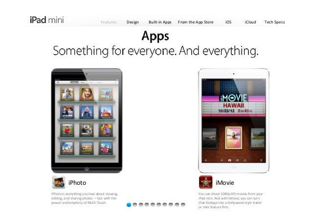 Introducing Apple iPad mini 2012