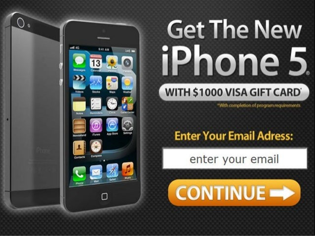 Apple iPhone 5 Free Giveaway - Free Apple iPhone 5