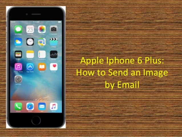 how to forward an email on iphone 6 plus