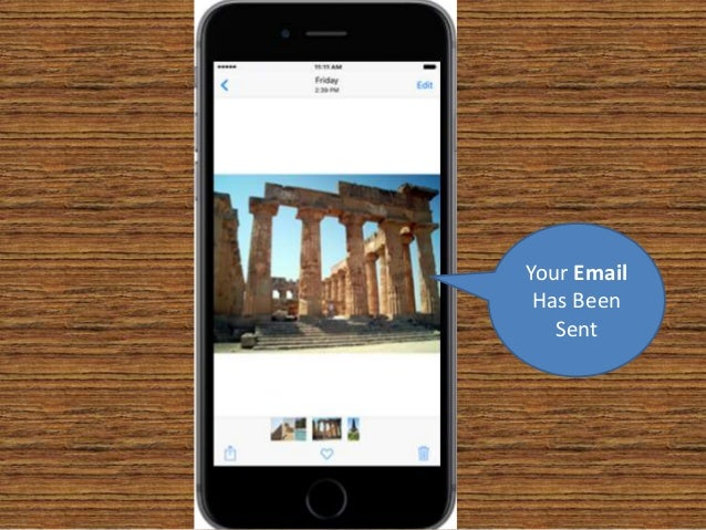 how to send email from iphone 6 plus