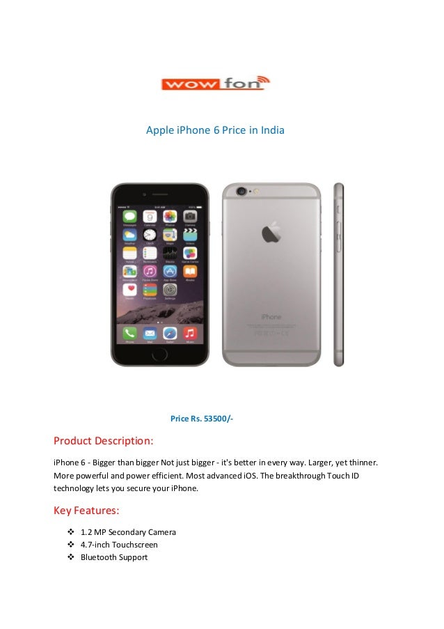 iphone 6 india price apple iphone 6 price in india 14988