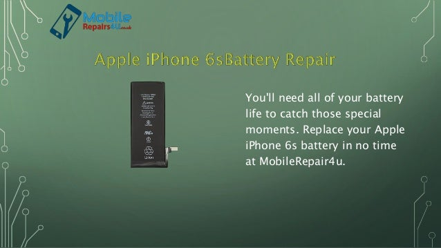 You'll need all of your battery life to catch those special moments. Replace your Apple iPhone 6s battery in no time at Mo...