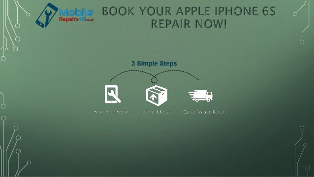 Goto Website Select Brand Select Device Select your faults you want to get repaired Pay & Checkout
