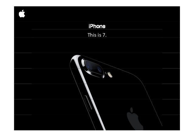 Introducing Apple iPhone 7 Slide 2