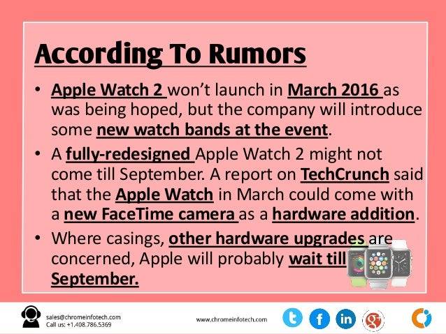 Top Rumors About Apple March 21 Big Event Slide 11