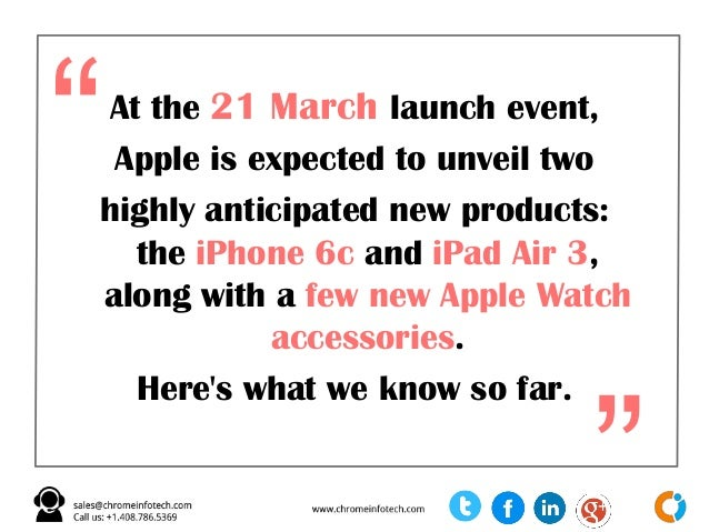 Top Rumors About Apple March 21 Big Event Slide 3