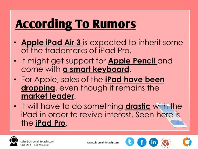 Top Rumors About Apple March 21 Big Event Slide 9
