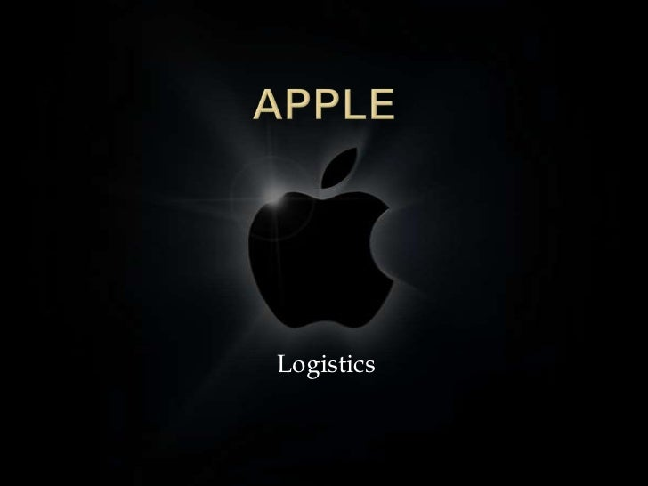 Apple<br />Logistics<br />