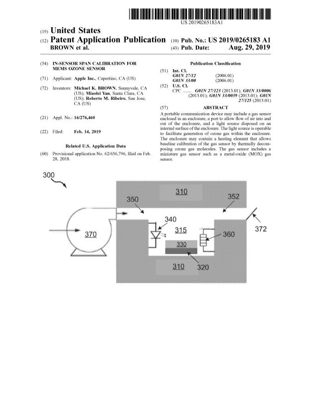 Apple patent ozone sensor show time entertainment, be brave apple comes to rescue !!
