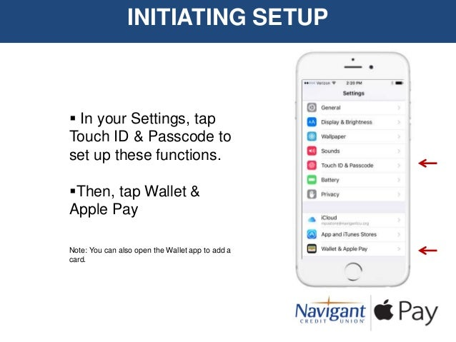 Apple Pay Setup Demo