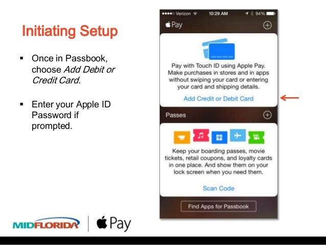 Apple Pay Set Up Demo - MIDFLORIDA Credit Union