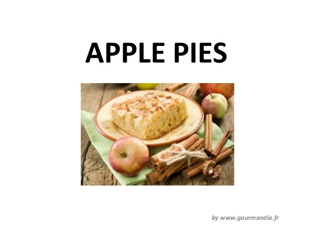 APPLE PIES        by www.gourmandia.fr