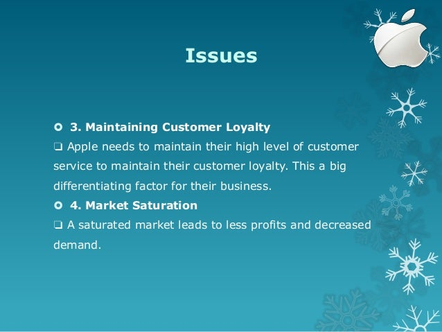 Financial Reporting Problem – Apple, Inc.