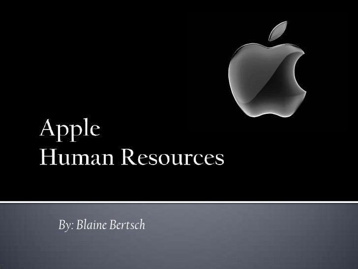 Human Resource Management of Apple.inc
