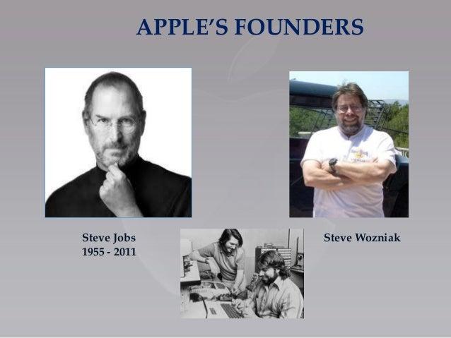 Apple presentationppt apples founders steve jobs 1955 2011 steve wozniak toneelgroepblik Gallery