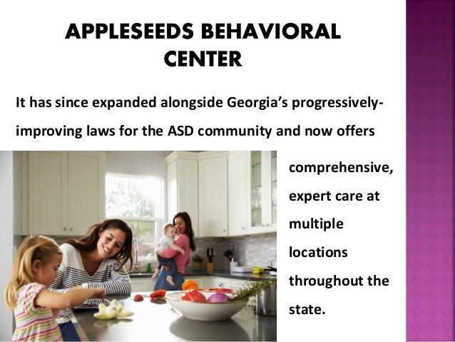 Appleseeds Behavioral Center - Caregiver Training Slide 3