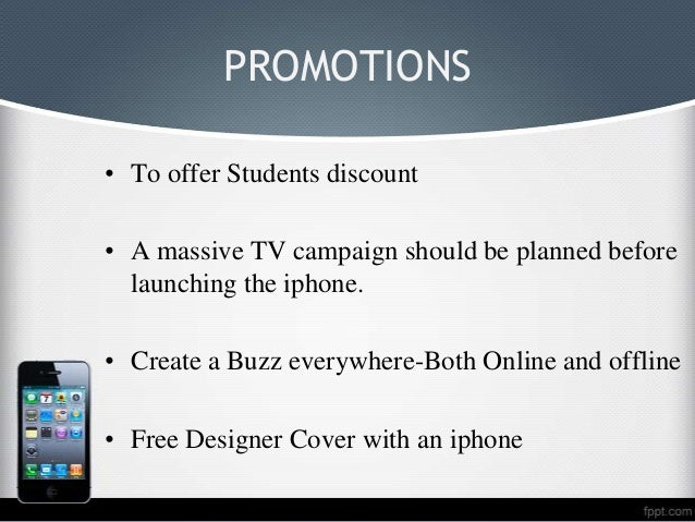 apple promotion strategy essay Apple's iphone marketing strategy exposedevery ambitious business owner hopes to succeed and.