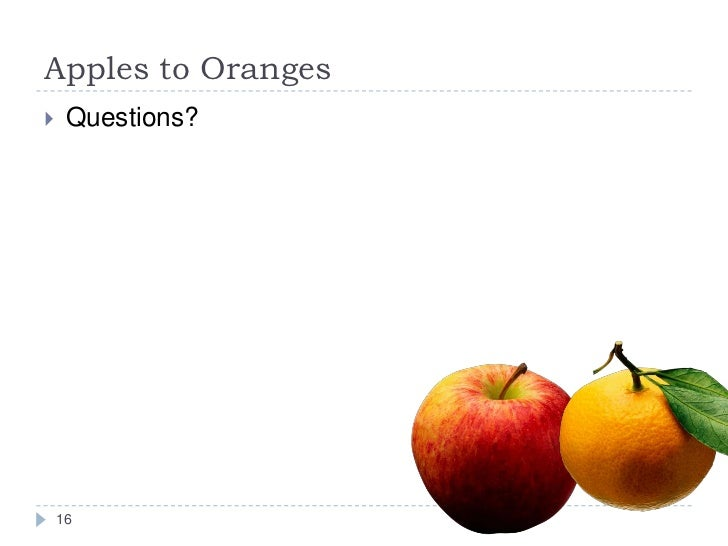 an essay on apples and oranges Prompt: analyze the similarities and differences between apples & oranges steps to writing a comparative essay brainstorming (venn.