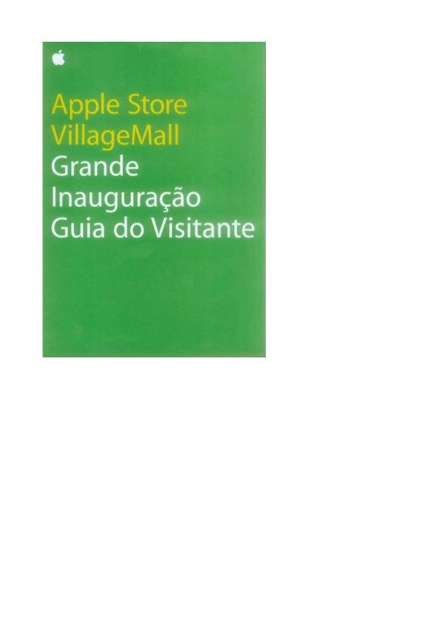 Apple store do rio   guia do visitante