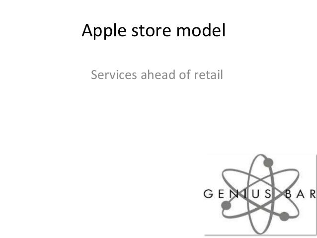 Apple store modelServices ahead of retail