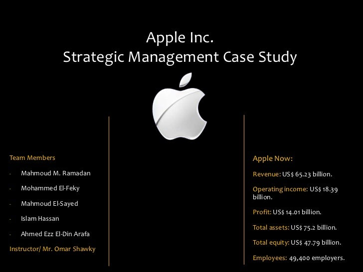 strategic management case study 1 Case study strategic management theory and practice order description in order to encourage strategic thinking, students are being asked to write and evaluate an.