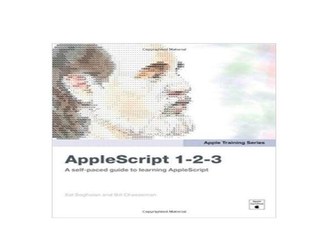 F R E E Apple Training Series Applescript 1 2 3 Full Pages