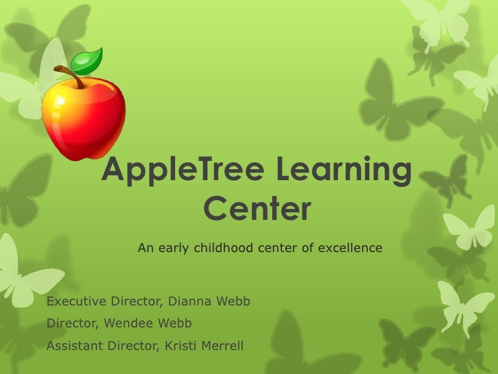 Apple tree learning center ppp 091911