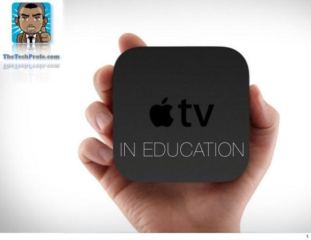 IN EDUCATION1